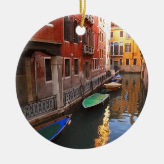 Colors of Venice, Italy Ceramic Ornament