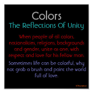 Colors-Reflections of...(Original ... - Customized Poster