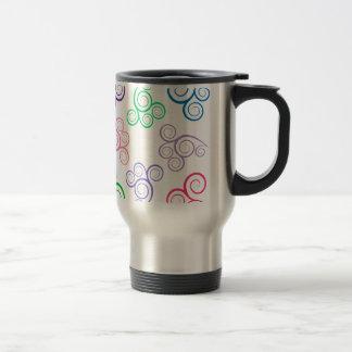 Colors Spiral Travel Mug
