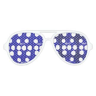 Colors, Stars, & Patterns Aviator Sunglasses