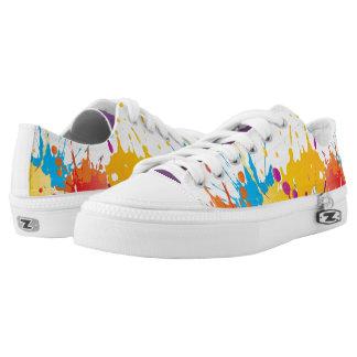 ColorSplat Multi-Color Low-Top Sneakers