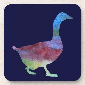 Colorwashed Goose Beverage Coaster