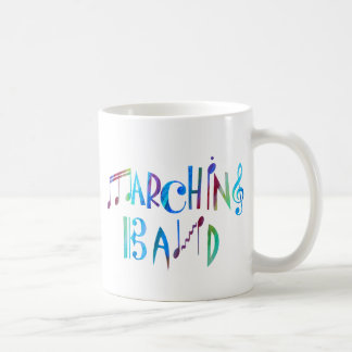 Colorwashed Marching Band Coffee Mug