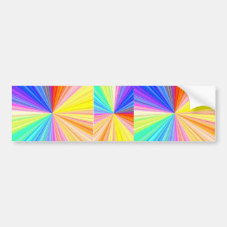 ColorWheel Sparkle - Enjoy n Share Joy Bumper Sticker