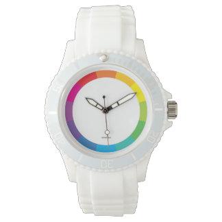 ColorWheel sporty wristwatch