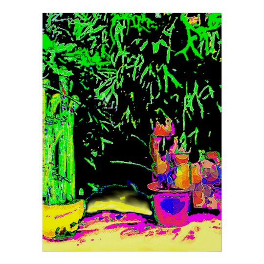 "Colossal 72""x52"" and 52"" x 72"" Giclée Art Staghorn Poster"