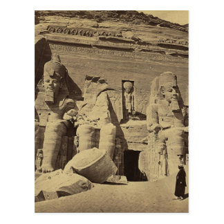 Colossal Figures, the Great Temple at Abu Sunbul Postcard