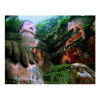 Colossal Le Shan Buddha Postcard