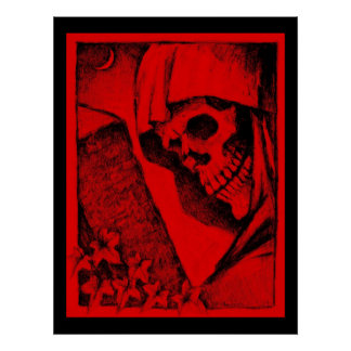 Colossal Red Skull Poster