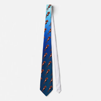 Colossal Squid Tiled Tie