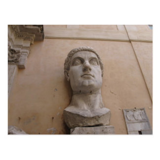 Colossal statue of Constantine, Rome, 315-220 CE. Postcard