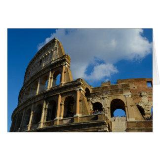 Colosseum à Rome, Italie Carte