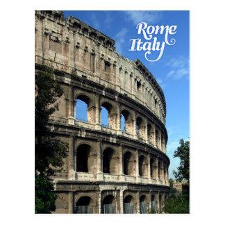 Colosseum à Rome Italie Carte Postale