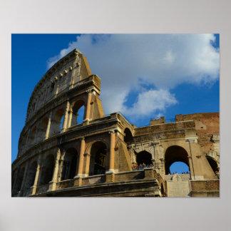 Colosseum à Rome, Italie Poster