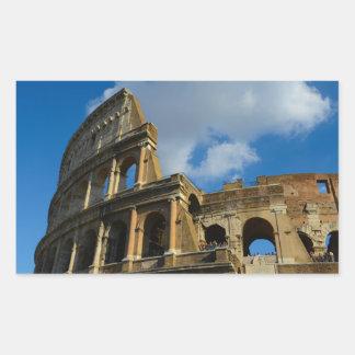 Colosseum à Rome, Italie Sticker Rectangulaire