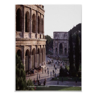 Colosseum Ancient Rome poser Poster