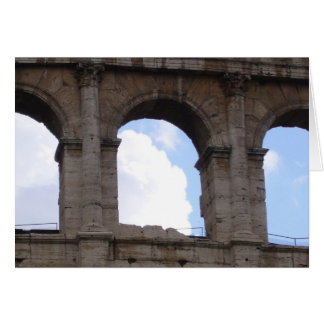 colosseum arches card
