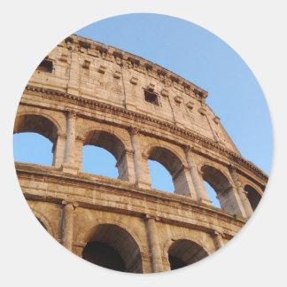Colosseum Classic Round Sticker