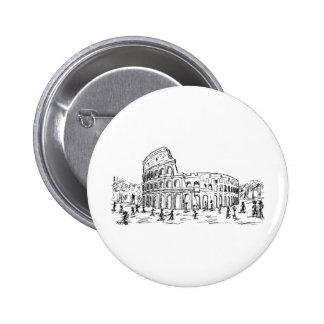 colosseum de Rome Badges Avec Agrafe