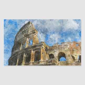 Colosseum in Ancient Rome Italy