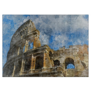 Colosseum in Ancient Rome Italy Boards