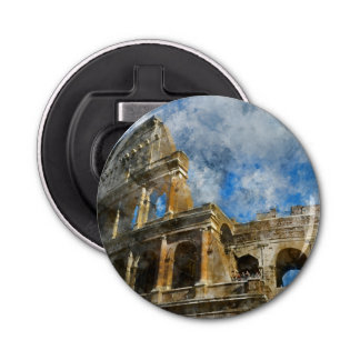 Colosseum in Ancient Rome Italy Bottle Opener