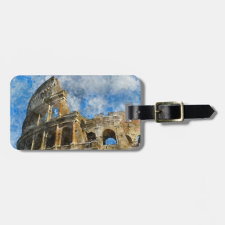 Colosseum in Ancient Rome Italy Luggage Tag