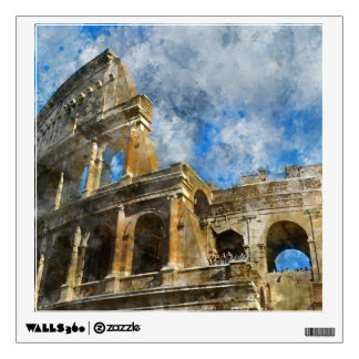 Colosseum in Ancient Rome Italy Wall Sticker