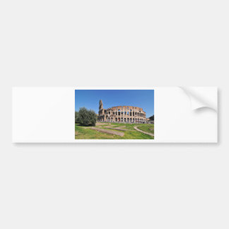 Colosseum in Rome, Italy Bumper Sticker