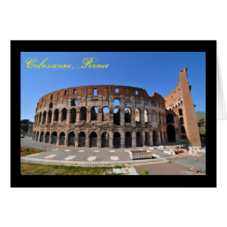 Colosseum in Rome, Italy Card