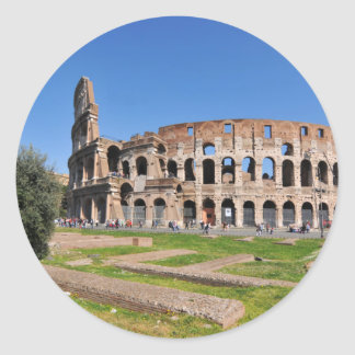 Colosseum in Rome, Italy Classic Round Sticker
