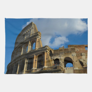 Colosseum in Rome, Italy Kitchen Towel