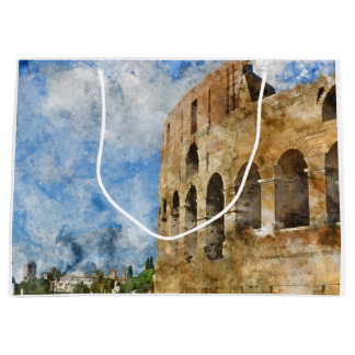 Colosseum in Rome, Italy Large Gift Bag