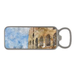 Colosseum in Rome, Italy Magnetic Bottle Opener