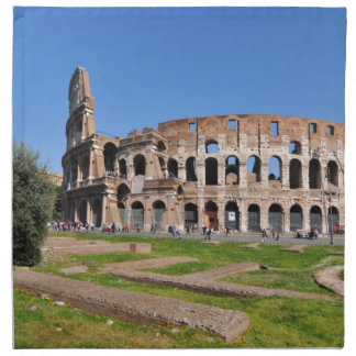 Colosseum in Rome, Italy Napkin