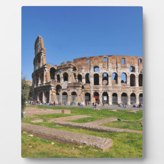 Colosseum in Rome, Italy Plaque