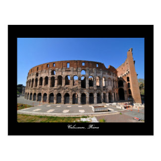 Colosseum in Rome, Italy Postcard