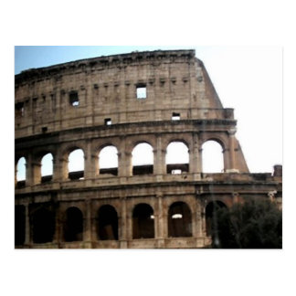 Colosseum Italian Travel Photo Postcard