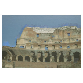 Colosseum painting, Rome Fabric