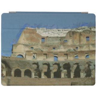 Colosseum painting, Rome iPad Cover