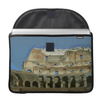 Colosseum painting, Rome Sleeve For MacBooks