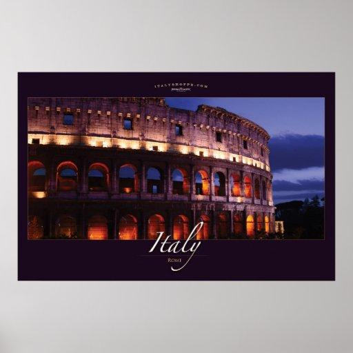 Colosseum romain affiche