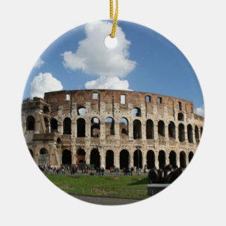 Colosseum Rome Ceramic Ornament