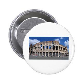 Colosseum Rome Italie Pin's Avec Agrafe