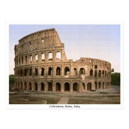 Colosseum Rome, Italie Carte Postale
