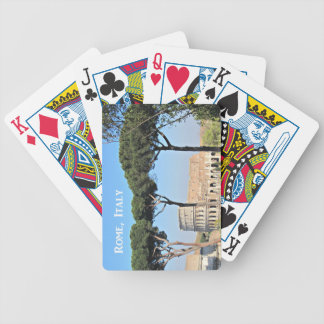 Colosseum, Rome, Italy Bicycle Playing Cards