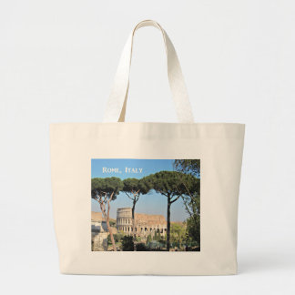 Colosseum, Rome, Italy Large Tote Bag