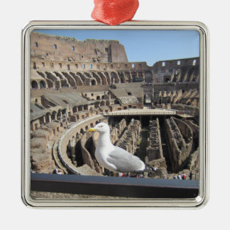 Colosseum, Rome, Italy Metal Ornament