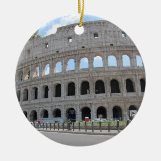 Colosseum Rome On! Ceramic Ornament
