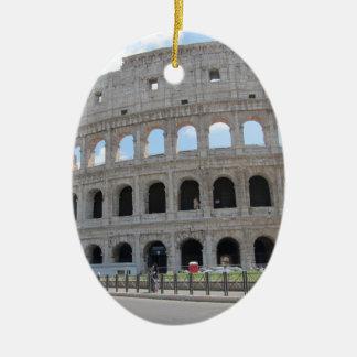 Colosseum Rome On! Ceramic Oval Ornament